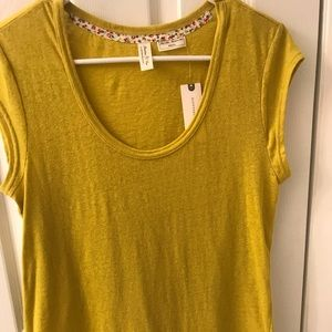 Anthropologie Meadow Rue T shirt size S NWT